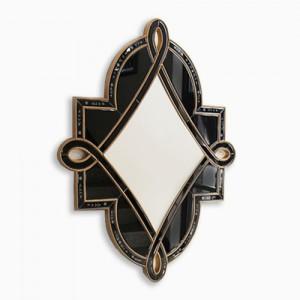 비올라 블랙 베네치안 인테리어 거울
