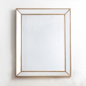 구슬 엔틱골드 베네치안 사각 거울