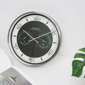 모멘토무소음온습도벽시계(2COLOR)