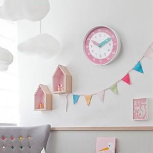 아토무소음교육용벽시계(핑크)