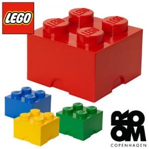 [레고]블럭정리함-4구(그린,레드,블루,옐로우 택1)