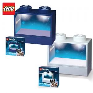 [레고LED]피규어라이트진열대(블루, 화이트 택1)