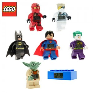 [레고시계]알람시계(닌자고카이/쟌/배트맨/슈퍼맨/조커/요다/브릭블루 택1)