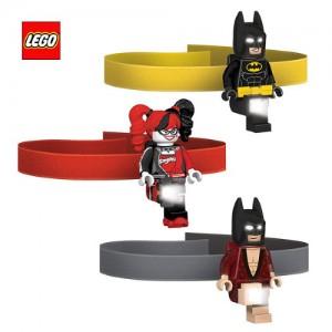 [레고LED]레고무비배트맨 헤드램프(배트맨,파자마배트맨,할리퀸 택1)