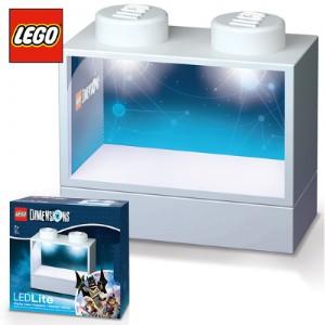 레고 DIMENSION LED 라이트 디스플레이케이스-화이트