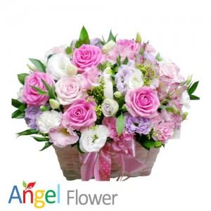 허니베이비 꽃바구니 생일선물 전국당일배송꽃배달