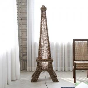 사라방드 홈데코 라탄 조명스탠드_에펠탑