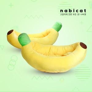 나비캣 바나나방석 강아지방석 고양이방석