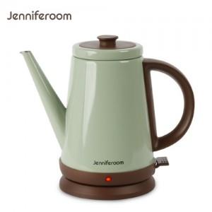 제니퍼룸 커피드립 전용 전기주전자 JR-K3805OB 올리브/전기포트/커피포트/드립포트