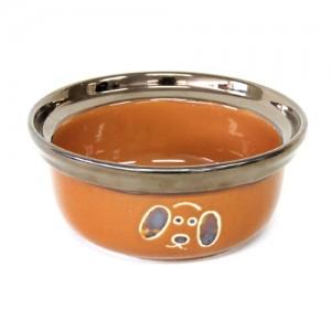 더독 포와이즈 세라믹 애견식기 450ml (골드/블랙)