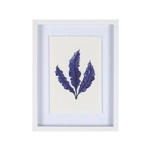 HL 로얄블루 세잎사귀 3040