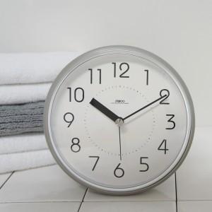 하루욕실방수흡착시계(그레이)