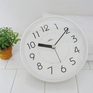 하루욕실방수흡착시계(화이트)