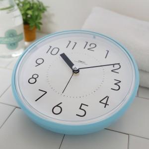 하루욕실방수흡착시계(블루)