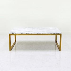 아르마블 대리석 소파 테이블1100 (골드) 스타투아리오 / 발색골드