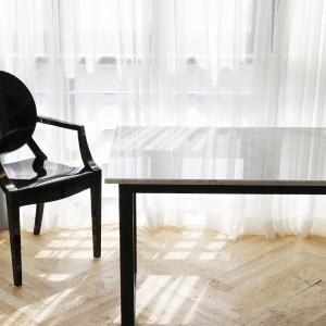 아르마블 천연 대리석 블랙 식탁 테이블