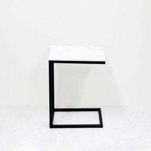 아르마블 심플 대리석 사이드테이블(비앙코코카라라)