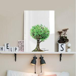 [헬로우아티스트]green tree 아크릴 그림액자by이그린(271119)-7호