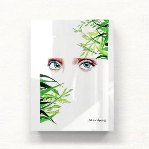 [헬로우아티스트]Natural eyes 아크릴 그림액자by이그린(271507)-6호
