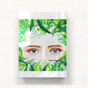 [헬로우아티스트]Natural eyes 2 아크릴 그림액자by이그린(271564)-6호