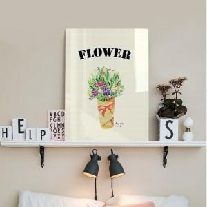 [헬로우아티스트]작은 꽃다발 아크릴 그림액자by이그린(271627)-7호