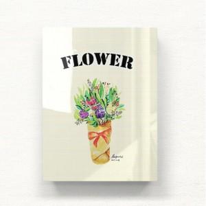 [헬로우아티스트]작은 꽃다발 아크릴 그림액자by이그린(271627)-6호