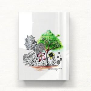 [헬로우아티스트]Natural tree 아크릴 그림액자by이그린(271863)-6호