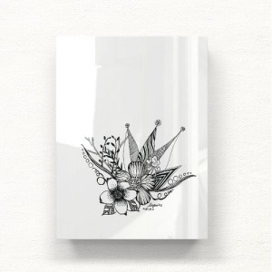 [헬로우아티스트]꽃두들 아크릴 그림액자by이그린(272081)-6호