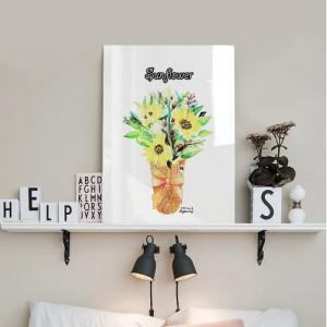 [헬로우아티스트]sunflower 아크릴 그림액자by이그린(273023)-7호