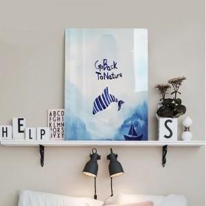 [헬로우아티스트]돌고래의 꿈 아크릴 그림액자by이그린(297811)-7호