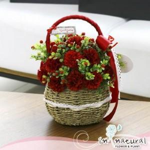 [어버이날] 크리미솝 카네이션_레드(비누꽃)
