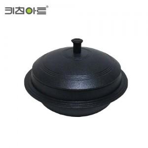 슈퍼블6중코팅 통주물 가마솥 20cm (4~5인용)