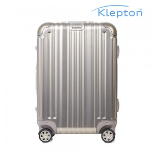 클렙튼 풀메탈 알루미늄 여행용캐리어 티타늄 21인치