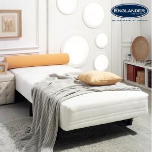 [잉글랜더]레베카 일체형 싱글 침대