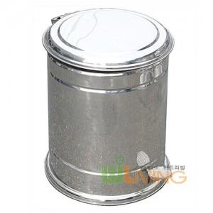 페달형 스텐휴지통(315x450/20리터) 스텐내통포함