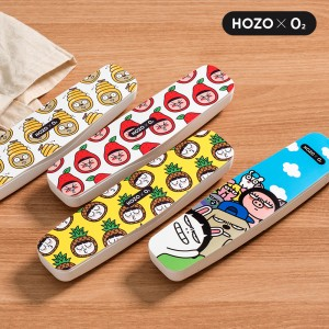 O2케어 호조 휴대용 캐릭터 칫솔살균기 OC-HOZO 300