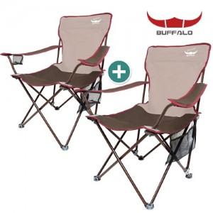 버팔로 산토리니 와이드 캠핑의자 세트/캠핑 낚시의자