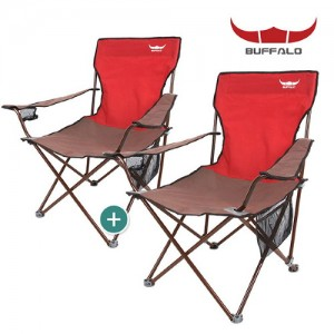 버팔로 와이드 필드체어세트(2P)/캠핑의자 낚시의자