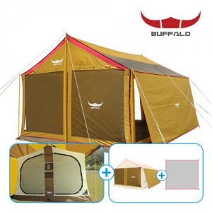버팔로 뉴 렉타 타프스크린 텐트 3종세트/타프하우스