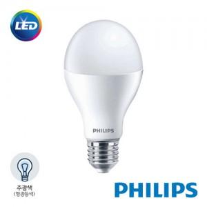 [PHILIPS]정품 필립스 LED 벌브전구 18W 주광색