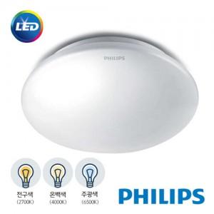 [PHILIPS]정품 필립스 LED 원형직부등 12W 전구색 / 주광색