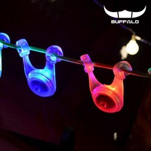 [버팔로] LED 스트링가드 레인보우 불빛 감성캠핑
