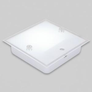 V_110214 사각 LED센서등 실크 14W 주광색 10개