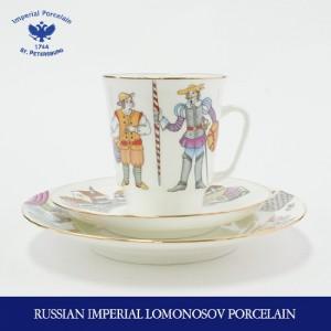 로모노소프 메이 돈키호테 발렛 찻잔 1인조/3p 23693