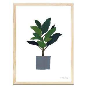 고무나무 - 유지언 작가