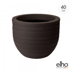 [엘호 elho] 얼루어 리본 인테리어 화분(40cm)