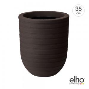 [엘호 elho] 얼루어 리본 하이 인테리어 화분(35cm)