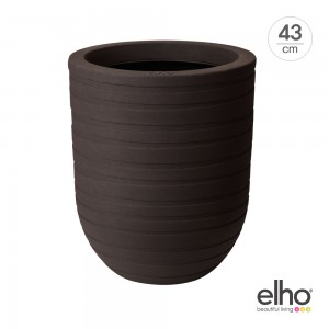 [엘호 elho] 얼루어 리본 하이 인테리어 화분(43cm)