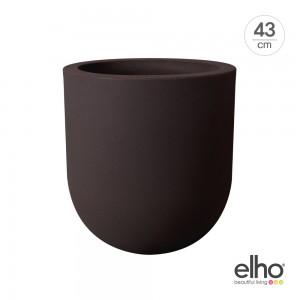 [엘호 elho] 얼루어 소프트 하이 인테리어 화분(43cm)