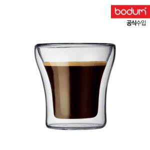 [보덤]아쌈 2개입 더블월 유리잔 0.1L BD4554-10